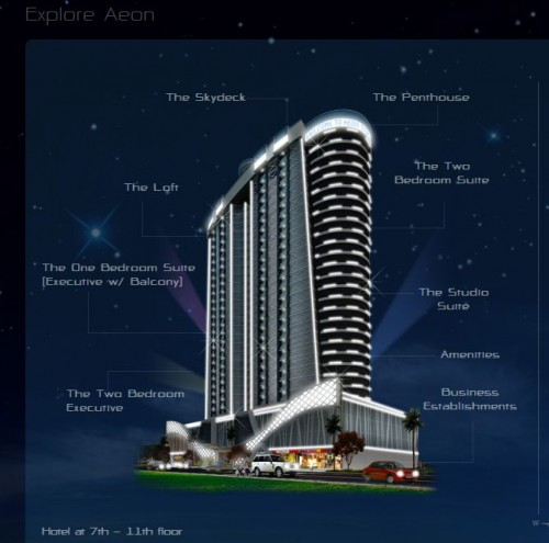 aeon tower