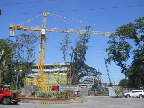 ateneo community tower under construction